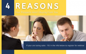 Four Reasons Your Prospects Aren't Buying From You - Cover2
